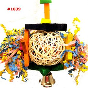 Bonka-Bird-Toys-1839-Foraging-Star-Bird-Toy-parrot-cage-toys-cages-shredder-cockatiel-conure-african-grey-0