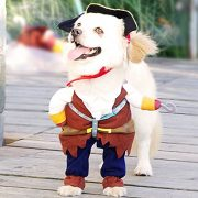 IdepetTM-New-Funny-Pet-Clothes-Caribbean-Pirate-Dog-Cat-Costume-Suit-Corsair-Dressing-up-Party-Apparel-Clothing-for-Cat-Dog-Plus-Hat-M-0-4