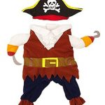 IdepetTM-New-Funny-Pet-Clothes-Caribbean-Pirate-Dog-Cat-Costume-Suit-Corsair-Dressing-up-Party-Apparel-Clothing-for-Cat-Dog-Plus-Hat-M-0-6