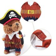 IdepetTM-New-Funny-Pet-Clothes-Caribbean-Pirate-Dog-Cat-Costume-Suit-Corsair-Dressing-up-Party-Apparel-Clothing-for-Cat-Dog-Plus-Hat-M-0-7