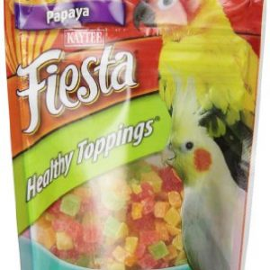 Kaytee-Fiesta-Healthy-Toppings-Papaya-Bits-for-All-Pet-Birds-25-oz-bag-0