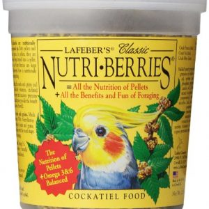 Lafebers-Classic-Nutri-Berries-for-Cockatiels-125-oz-Tub-0