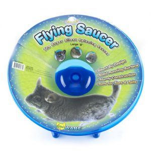 Ware-Manufacturing-Flying-Saucer-Exercise-Wheel-for-Small-Pets-12-Inch-Colors-may-vary-0