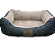 American-Kennel-Club-Orthopedic-Circle-Stitch-Cuddler-Pet-Bed-Gray-0