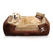 HappierGo-Waterproof-Orthopedic-Large-Dog-Bed-with-Corn-Pillow-and-Removable-Cover-0