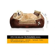 HappierGo-Waterproof-Orthopedic-Large-Dog-Bed-with-Corn-Pillow-and-Removable-Cover-0-4