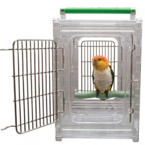 Perch-and-Go-Clear-View-Bird-Carrier-and-Travel-Cage-0