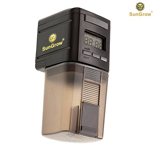 Sungrow microcomputer automatic fish feeder for healthy for Weekend fish feeder